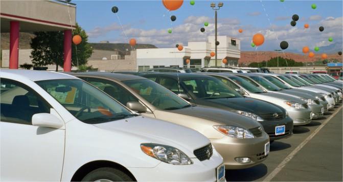 ventes de voiture