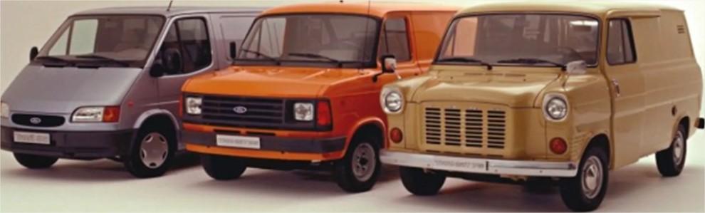 histoire de la Ford transit