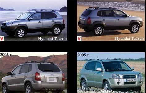histoire de la Hyundai-Tucson